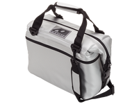 AO Cooler 12 Pack Carbon Cooler (Silver)