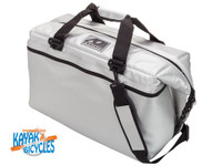 AO COOLERS 36 PACK CARBON SILVER
