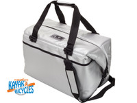 AO COOLERS 48 PACK CARBON SILVER