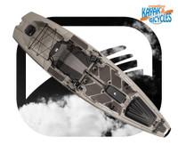 Bonafide Kayaks SS107 In Top Gun Grey