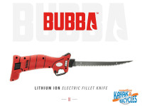 Bubba Blade Electric Filet Knife, with 4 blades