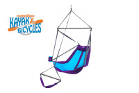 ENO Lounger Hanging Chair | Purple /Teal