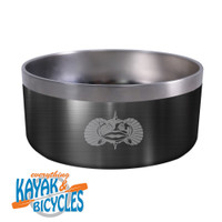 ToadFish Non-tipping Dog Bowl -Graphite