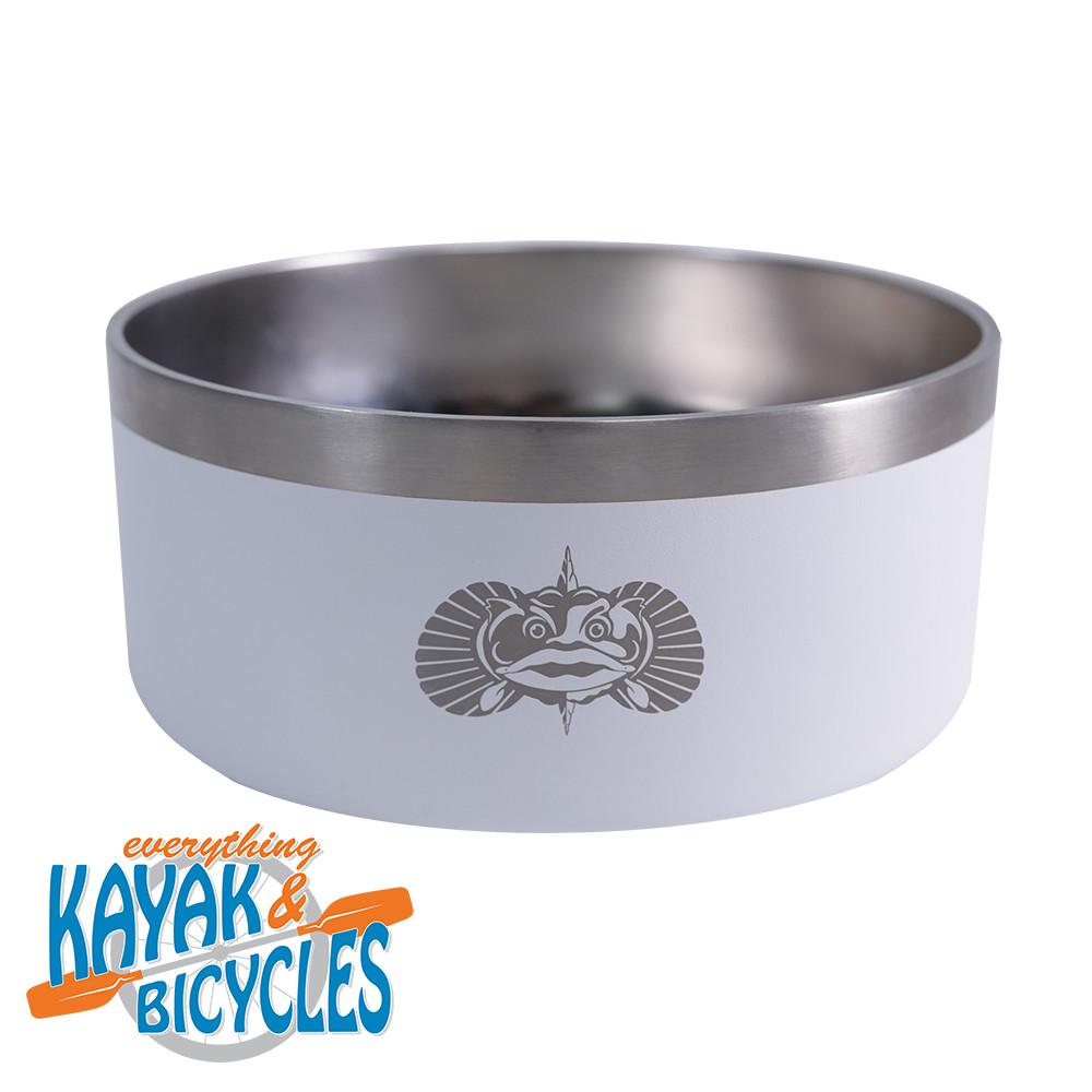 ToadFish Non-tipping Dog Bowl- White