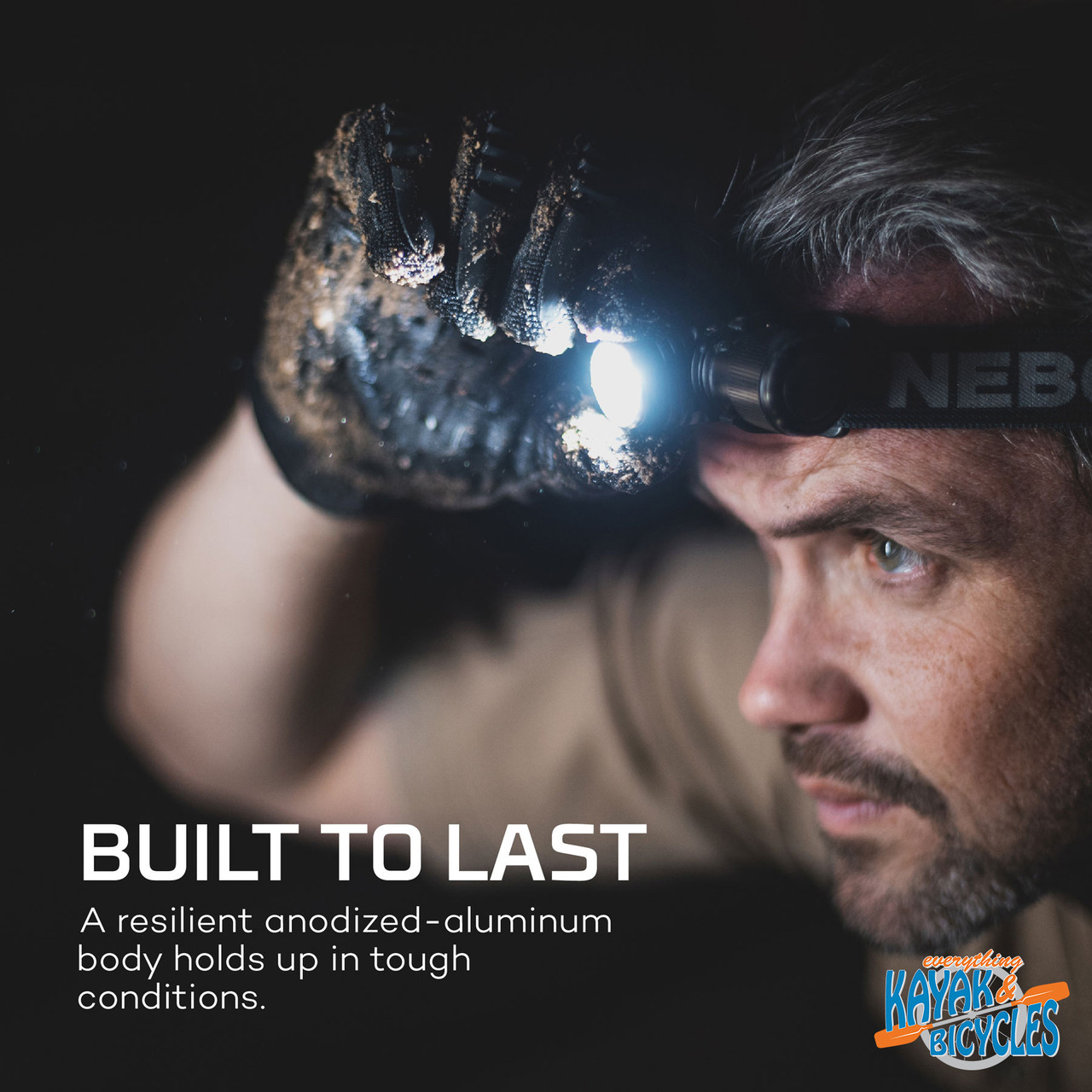 Nebo Transcend Rechargeable Headlamp and Flashlight