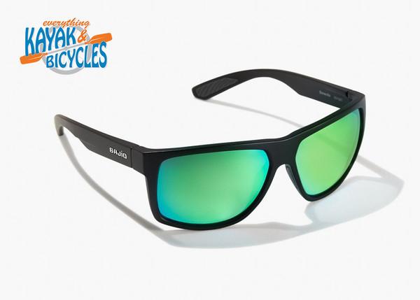 Bajio Boneville In Permit Green Glass Lens/Dark Tort Matte Frame