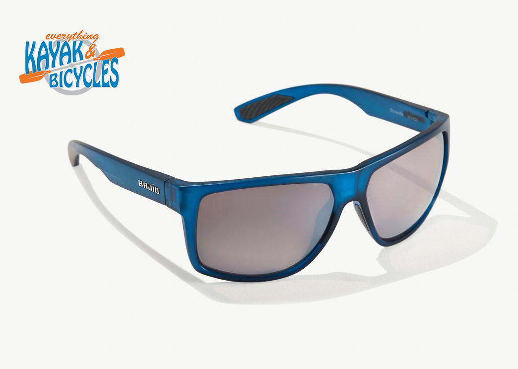 Bajio Boneville In Cuda Silver Plastic Lens/Blue Vin Matte Frame