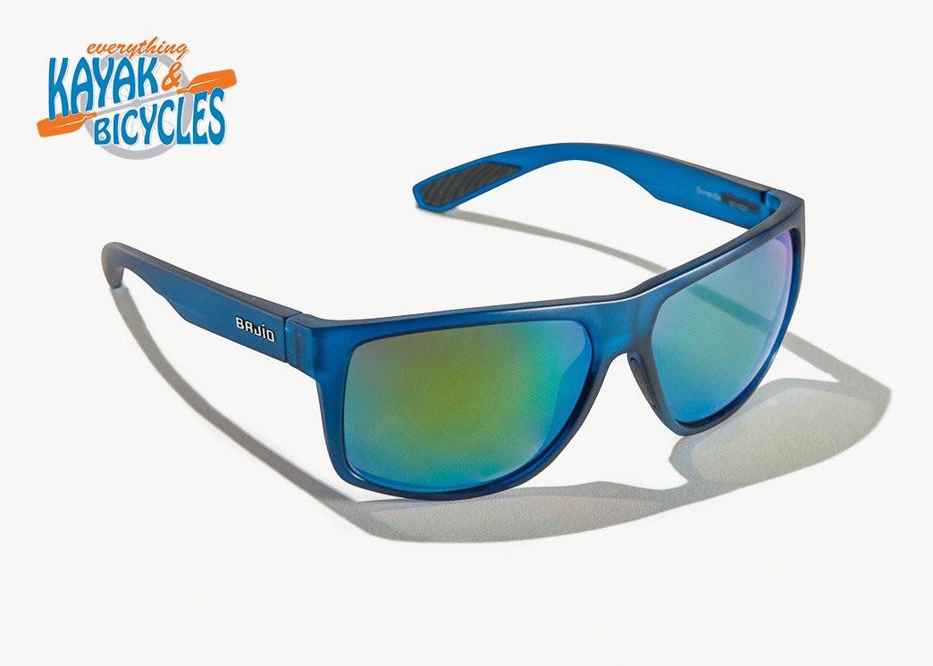 Bajio Boneville In Permit Green Glass Lens/Blue Vin Matte Frame