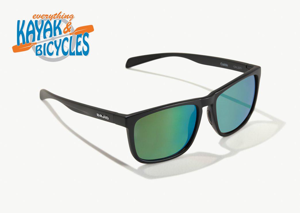 Bajio Calda In Green Glass/Black Matte Frame