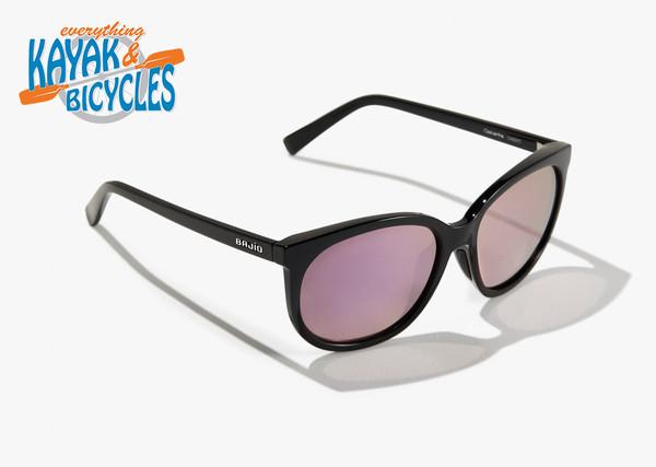 Bajio Casuarina In Drum Pink Plastic Lens/Black Gloss Frame