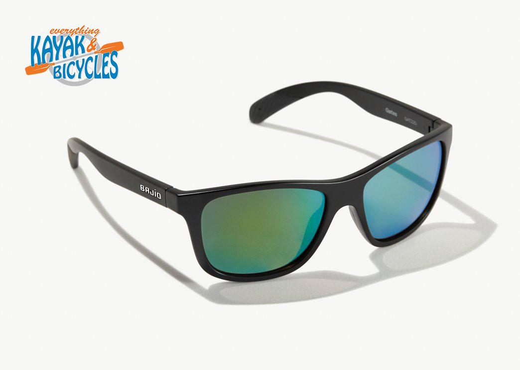 Bajio Gates Permit Green Glass Lens/Black Matte Frame