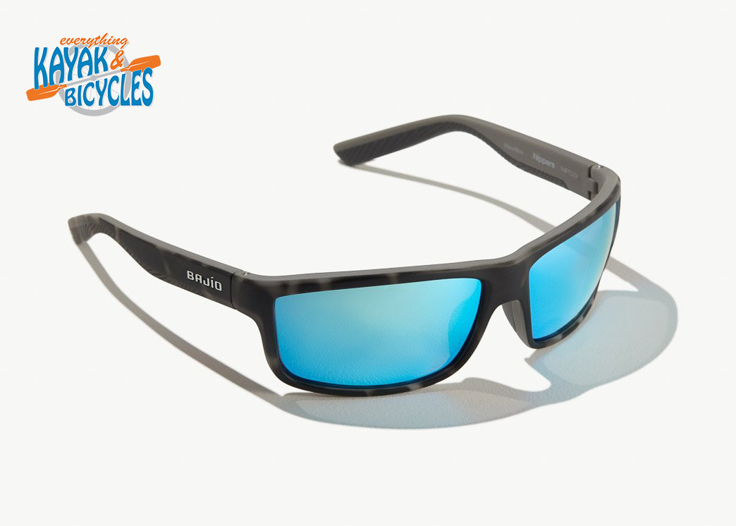 Bajio Nippers In Trevally Blue Glass Lens/Squall Tort Matte Frame