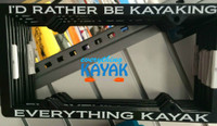 Everything Kayak License Plate Frame | Everything Kayak