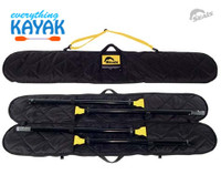 Everything Kayak Seals Two Piece Paddle Bag Kayak Seals Gulfport MS