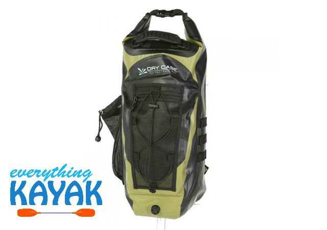 97bb71d3af DryCase Basin Waterproof Backpack Green 20 Liter ...