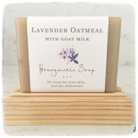 Lavender Oatmeal Soap with Goat Milk