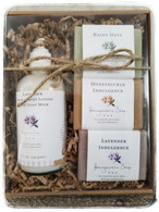 Gift  Set with Goat Milk Body Lotion & 3 Soaps