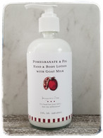 Pomegranate & Fig Hand & Body Lotion with Goat Milk