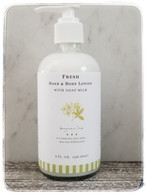 Fresh Hand & Body Lotion with Goat Milk