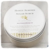 Honey Almond Sugar Scrub - Large
