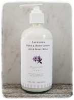 Lavender Hand & Body Lotion with Goat Milk
