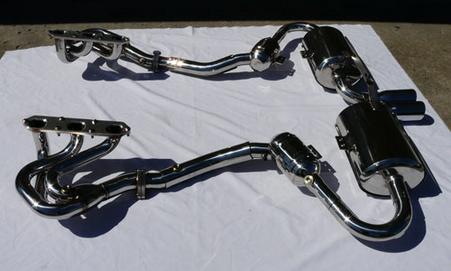 Porsche 986 Boxster 2.5L NHP Full Exhaust System
