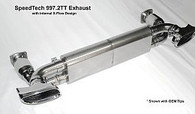 Porsche 997.2 TT SpeedTech X-cellerator Performance Exhaust