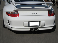Porsche 997 GT3 Stainless Steel Exhaust Tips