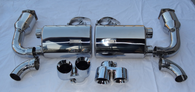 Porsche 997 Turbo NHP 70mm Turbo Back Exhaust System w/ Tips