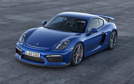 Cayman GT4 Blue