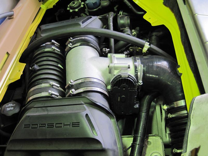 Porsche 987 Cayman Race Plenum Kit