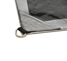 Heavy Duty Tarpaulin D-Ring  2.4mx3.0m (8'x10')