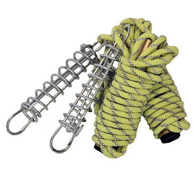 Glow-In-The-Dark Guy Rope w/- Runner & Trace Spring