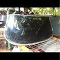 Jaguar Rear Window Glass W/ Molding