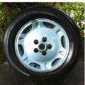 Jaguar Rim W/Tire Xj6 95-97 (Dimples). JLM20990