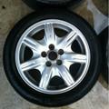 Jaguar Rim W/ Tire S-Type (3.0 V6) 00-02. XR82015