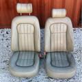 Jaguar Set Of Khaki Leather Seats Xjr 98-03