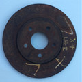 Jaguar Rear Brake Rotor