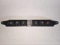 Jaguar Window Lock / Valet / Seat Warmer / Traction Control / Hazard Switch Panel Xj8, Vdp, Xjr 98-03. LNC6290