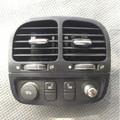 Jaguar Center Console Rear A/C Vent W/ Seat Warmer Switches Xj8, VDP, Xjr 04-08. 2W9314D695AB, 2W9319C570BJ