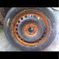 Jaguar Factory Spare Rim W/ Tire X-Type 02-08  Tire Size 205/55R16