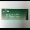 Jaguar Quick Reference Guide Xj6, Vdp, Xjr, Xj12 95-97. SEDQRG11/9425M