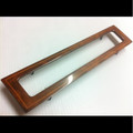 Jaguar XJ6-VDP- XJ12 A/C Center Vent Wood Trim 88-89