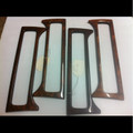 Jaguar A/C Center Vent Wood Trim XJ6, XJ12 95-97