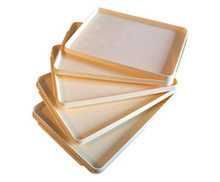 Plastic Food Tray (Set of 5)