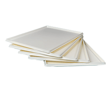 Plastic Food Tray  (Set of 5) - white