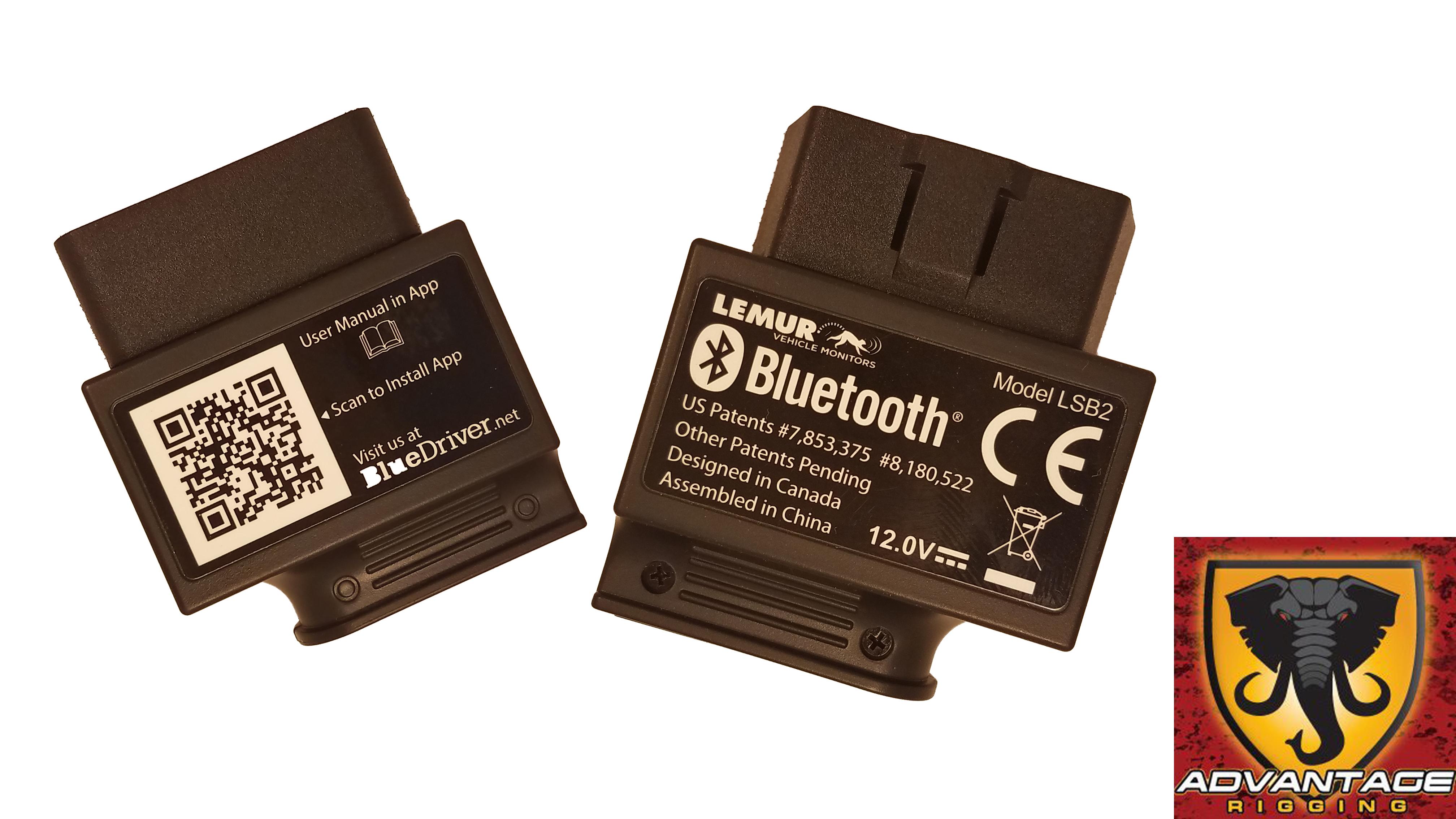 Bluedriver OBD-II Code Scanner - Advantage Rigging
