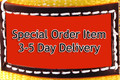 "Special Order Item 3-5 Day Delivery Nylon Lifting Sling - Twisted Eye and Eye - 3"" x 30' - 1 Ply"