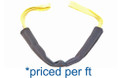 "Nylon Sling Protector Sleeve (4"" Slings) priced per foot"