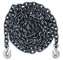 "1/2"" - Grade 80 Binder Chain - Grab Hooks - 10' Length"
